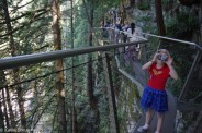 Capilano Suspension Bridge park, Vancouver,BC, Canada