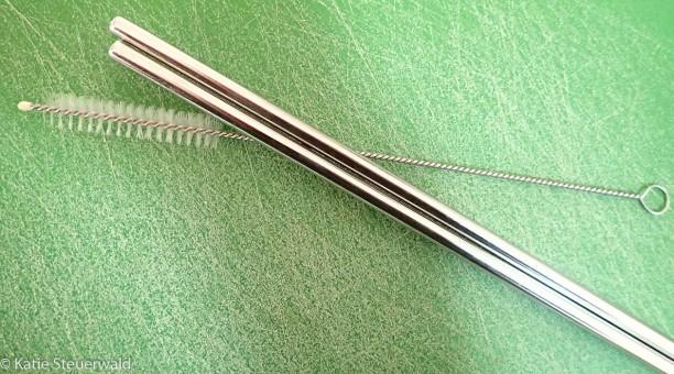 steel straws
