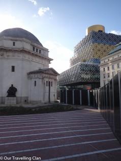 Birmingham Library centenary square