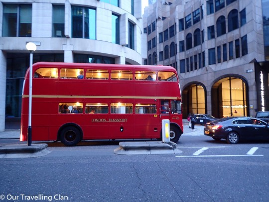 Heritage Bus, London