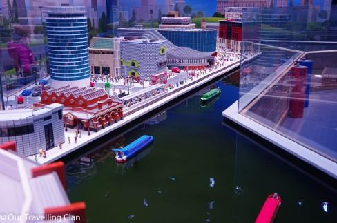 Lego Canal Birmingham