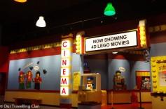 Legoland Birmingham 4D cinema