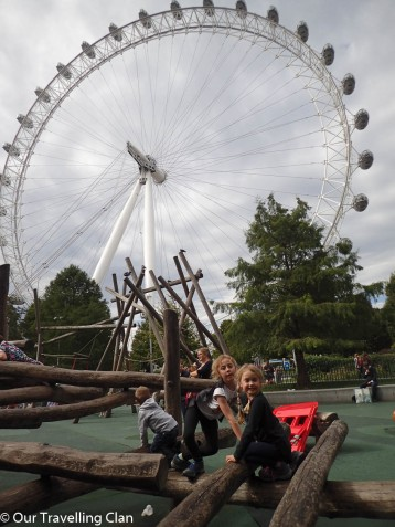 Playground London Eye