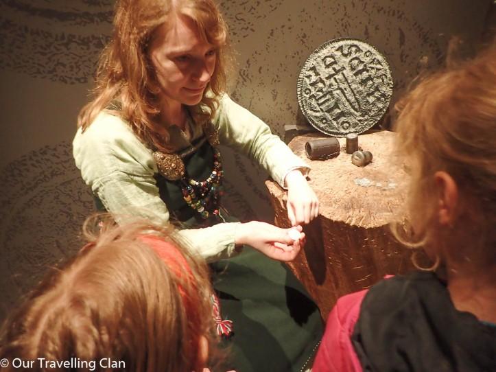 Coin, Jorvik Viking Museum York England