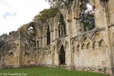 England, St Mary's Abbey York