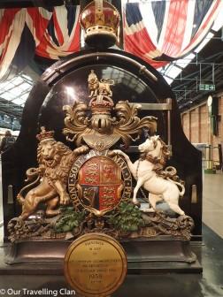 Royal train York Rail museum England