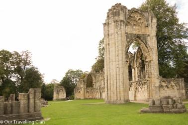 St Mary's Abbey York, England