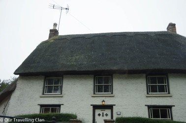 thatched roof cottage Wollaston Village UK