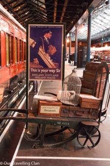 trolley York Rail Museum England