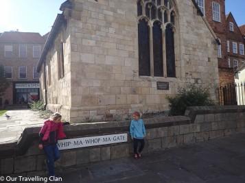 Whipmawopmagate York England